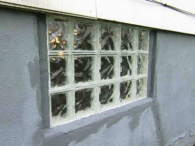 Installing GLASS Block WINDOWS