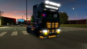 Little Accesories tuning for Scania RJL