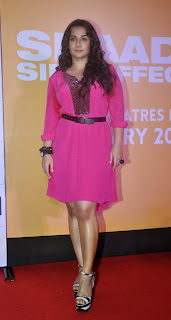 Vidya Balan Latest Photos in short Pink Dress