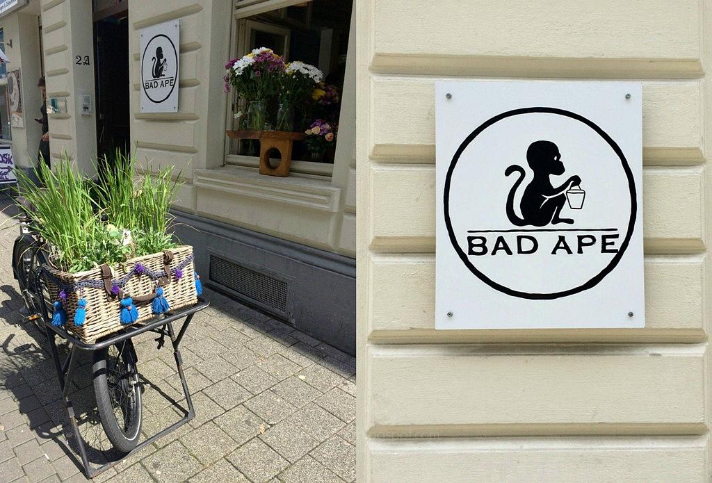 Bad Ape Cologne Köln, Restaurant Lokal Ehrenstraße, gesundes Essen Take Away, selbstgemachtes Essen, Alte Wallgasse, mittwochs mag ich, Mmi