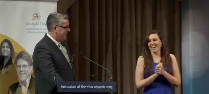 Young, Deaf Woman wins Australian of Year Award get over 100K views