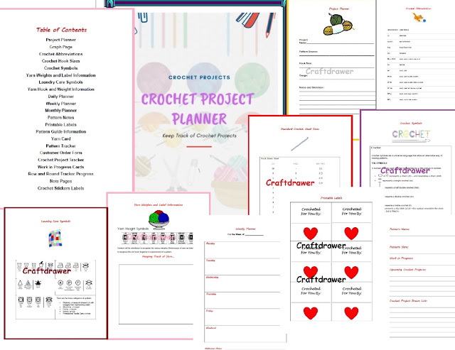 A Crochet Project Planner