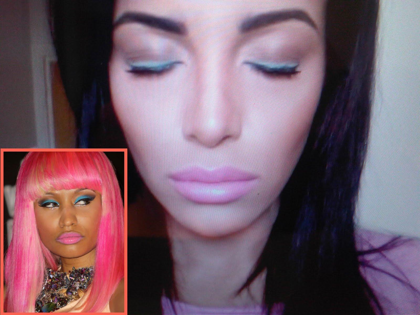 Nicki Minaj Funny Pictures  Nude Naked Pussy Slip Celebrity-5523