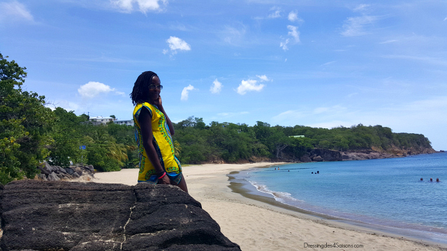 Dressing-des-4-Saisons-Dashiki-t-shirt-lookbook-rocher-plage-leroux-guadeloupe-microlocks