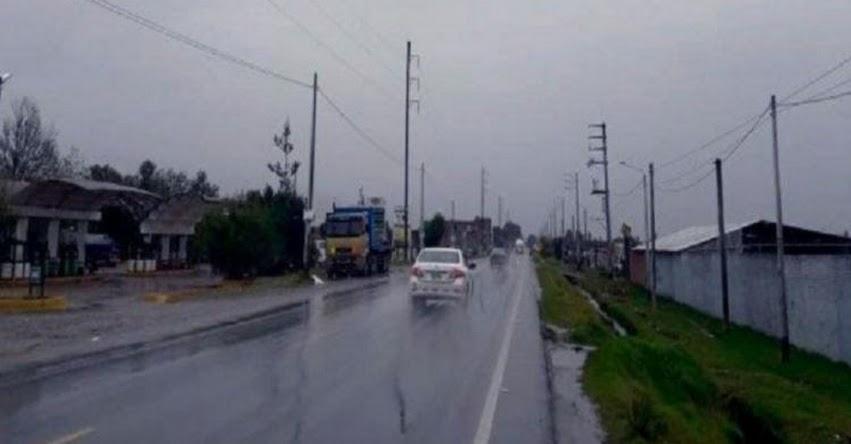 SENAMHI ALERTA: Lluvia moderada y granizo aislado prevén en Sierra norte desde este mediodía - www.senamhi.gob.pe