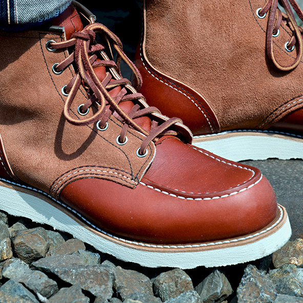 LIFE TIME GEAR: RED WING SHOES UPPER TIER STYLE #8819 | SHOOTING