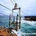 Wisata Extreme Kereta Gantung Kayu Ditengah Pulau