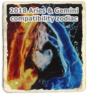 2018 Aries & Gemini compatibility interpretations zodiac
