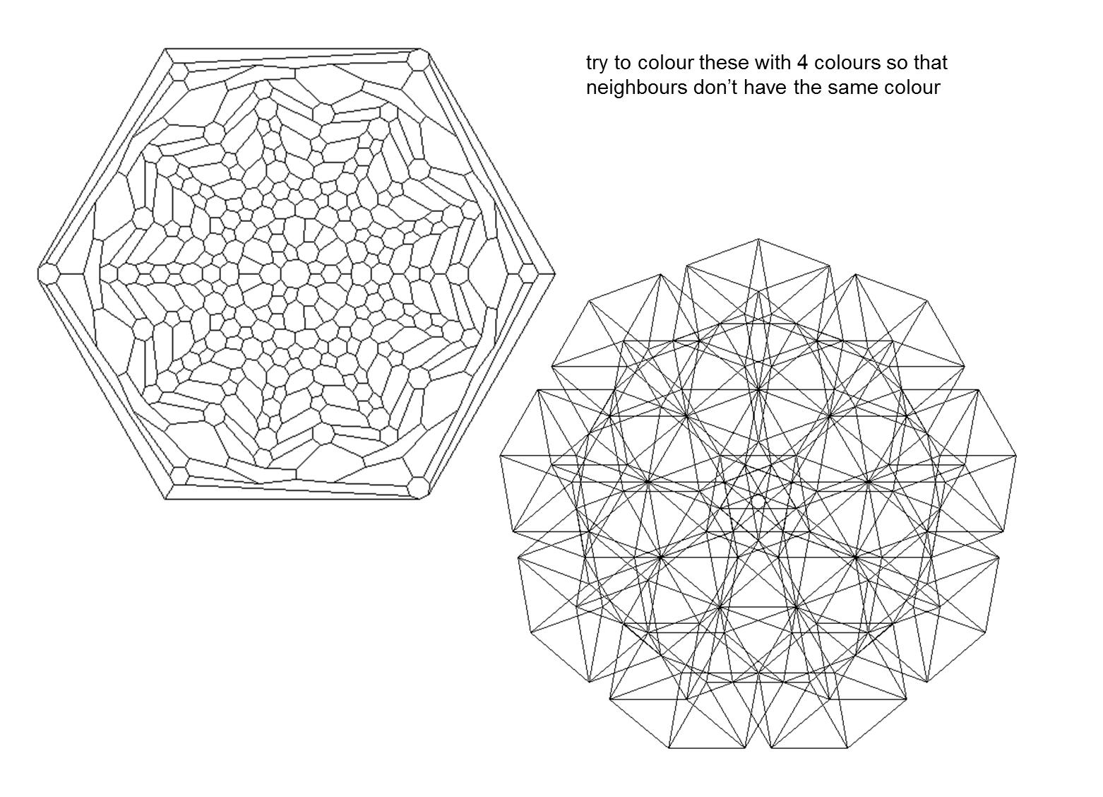 MEDIAN Don Steward mathematics teaching: four colour theorem