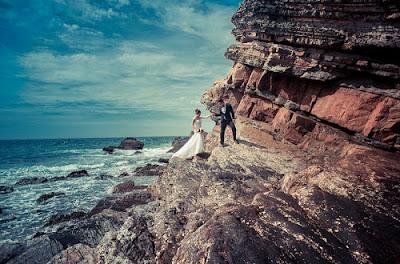 Chú ý lựa chọn địa điểm chụp ảnh cưới biển đẹp