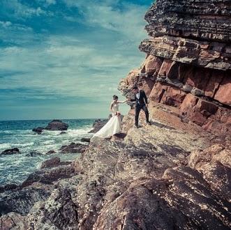 Mách bạn 5 bí kíp chụp ảnh cưới biển đẹp lung linh ít người biết