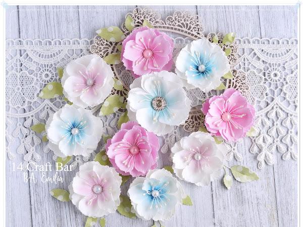 Foamiran Flowers & Giveaway