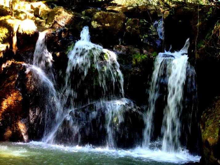 Cachoeira do Arroio Quilombo, no Morro da Borússia, Osório
