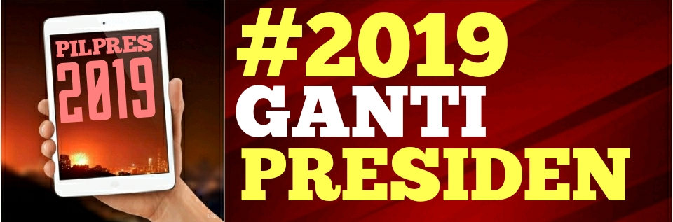 #2019GantiPresiden