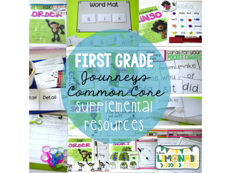 first grade journeys supplemental resources