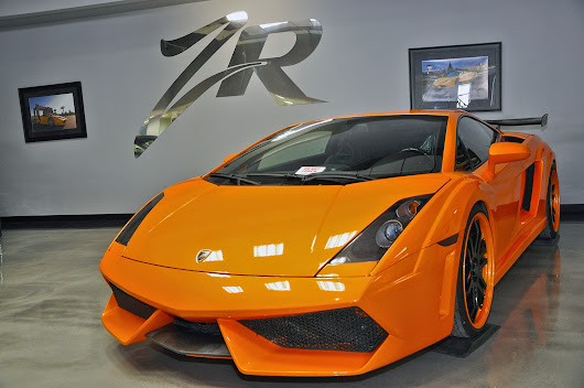 Orange Heffner Twin Turbo Gallardo Ready For A New Wrap!