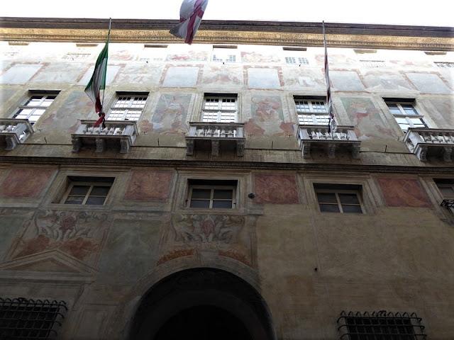 facciata del palazzo angelo giovanni spinola