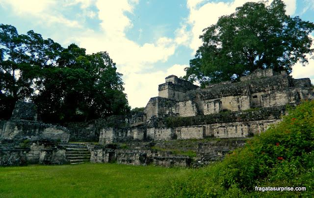 Acrópole Central, Tikal, Guatemala