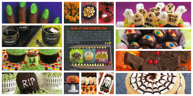 Ghoulish Goodies Halloween Cookbook Review