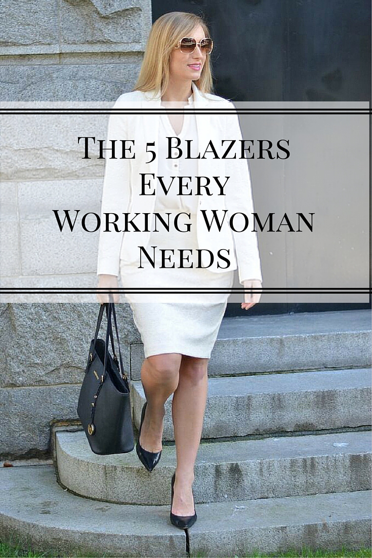 style advice working woman blazers