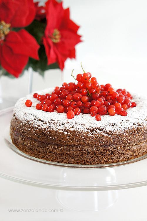 Torta di grano saraceno e marmellata per celiaci - Torte con grano saraceno ricetta - Buckwheat cake recipe
