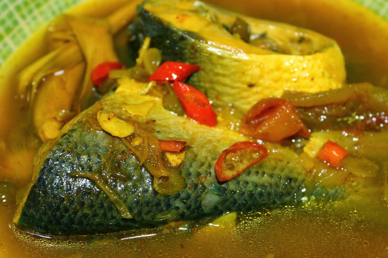 Resep Ikan Bandeng Kuah Kuning - Dapur Lagi