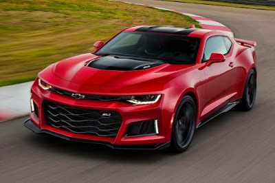 Chevrolet Camaro ZL1 (2017) Front Side