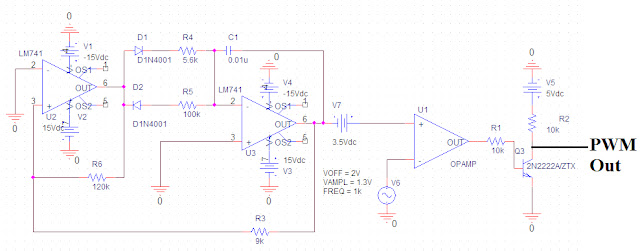 pwm schematic to the rails pulse width modulation  to the rails pulse width modulation