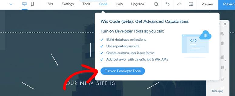 Kode wix