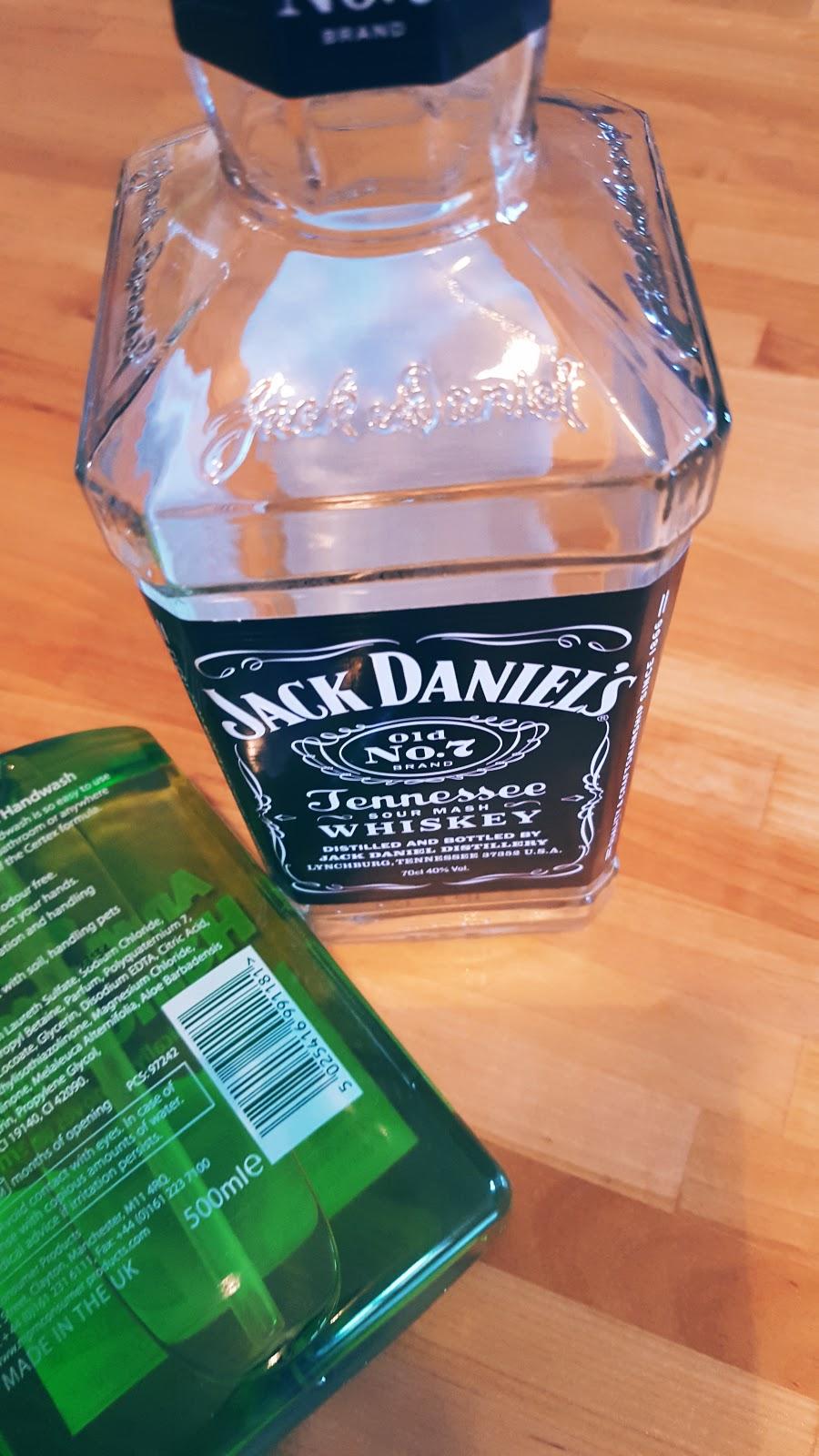 Jack Daniels Soap Dispenser: Creative Mondays Blog Hop