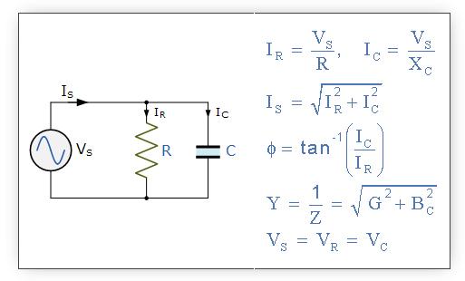 Circuito Rc : Componentes pasivos en circuitos de corriente alterna