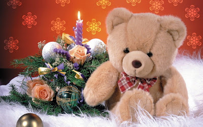 beautiful-christmas-Teddy