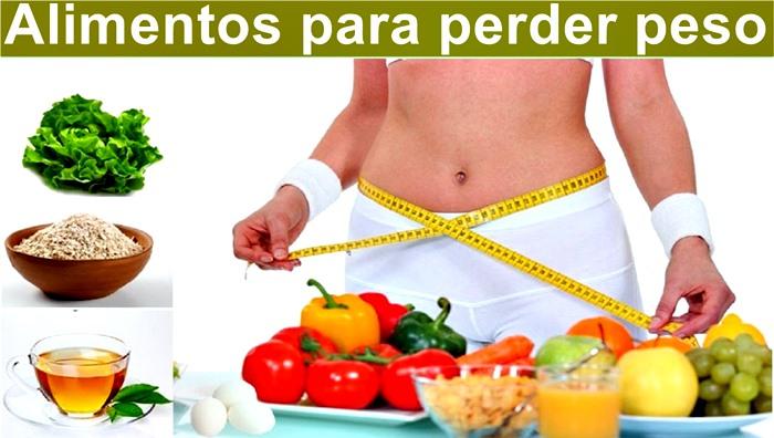 Alimentos para eliminar grasa corporal y bajar de peso rápido y de forma natural