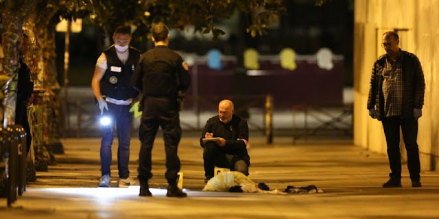 Paryż: Atak nożownika, siedem osób rannych
