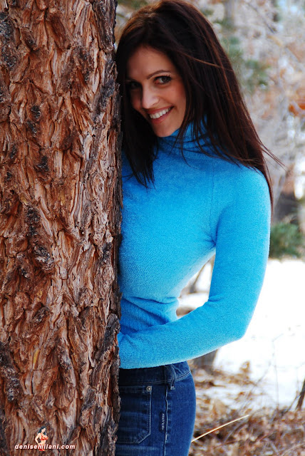 Gorgeous-Denise-Milani-Internet-Model-Big-Bear-Photoshoot-Picture-HD-6