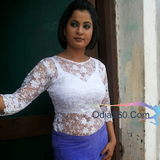 Bidusmita Dash Mantry whte dress