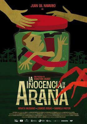La Inocencia De La Araña 2011 DVDR BD NTSC Latino [No Menú]