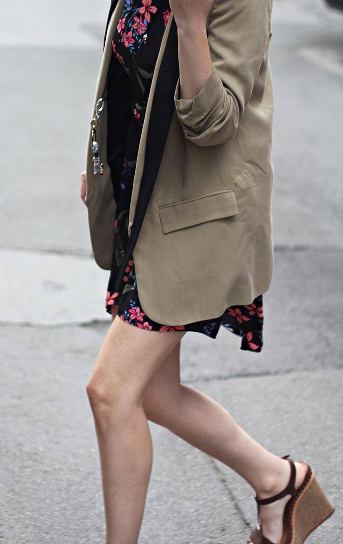 Fashion And Style Linen Blazer
