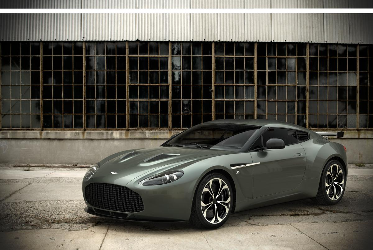 Aston Martin V12 Zagato road-going