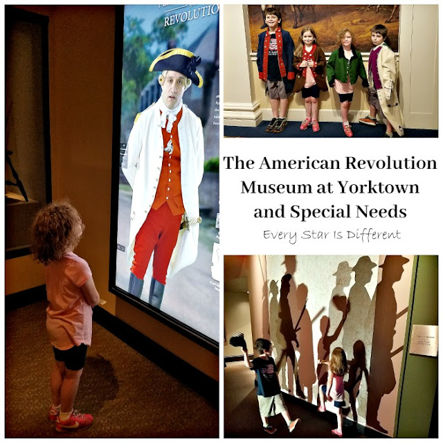 The American Revolution Museum at Yorktown and Special Needs