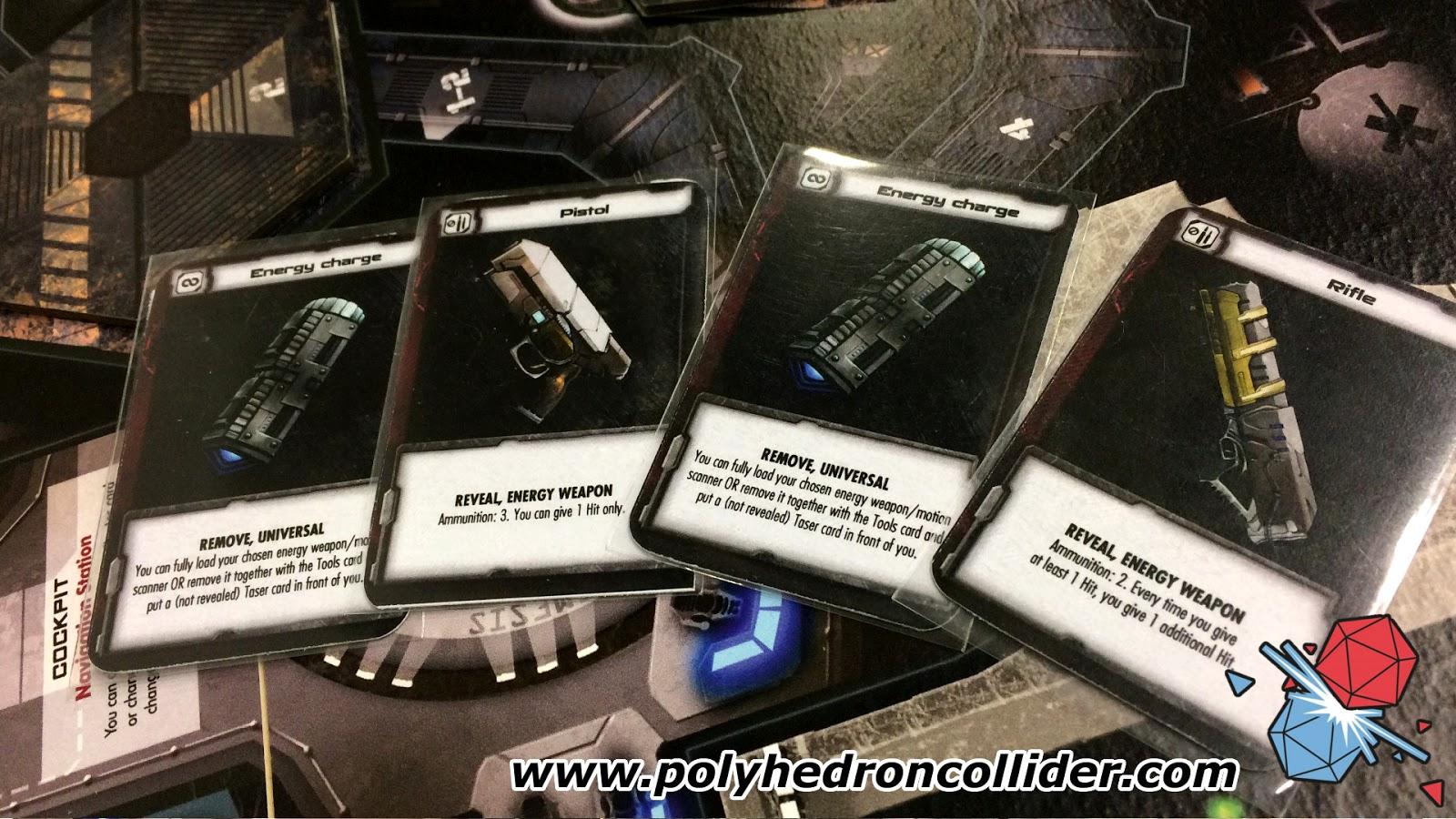 nemesis alien board game crafting cards