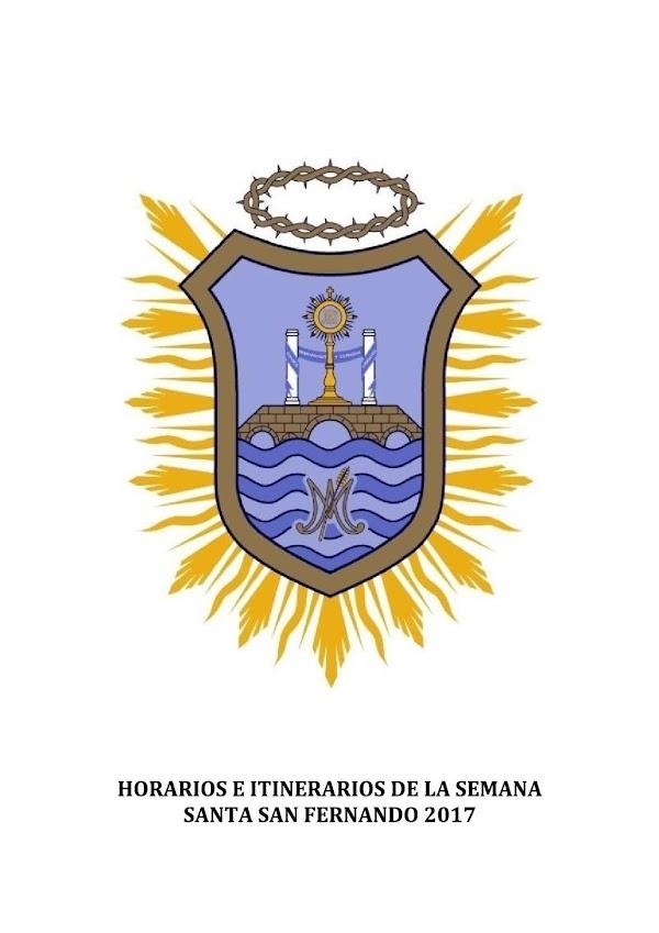 Programa, Horario e Itinerario Semana Santa San Fernando (Cádiz) 2017