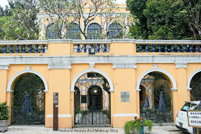 Sir Robert Ho Tung Library at St.Augustine's Square, Macau's UNESCO Heritage Site & part of Historic Centre Of Macao