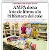 DONACION DEL AMPA AL COLEGIO. NUEVA REMESA DE LIBROS PARA LA BIBLIOTECA
