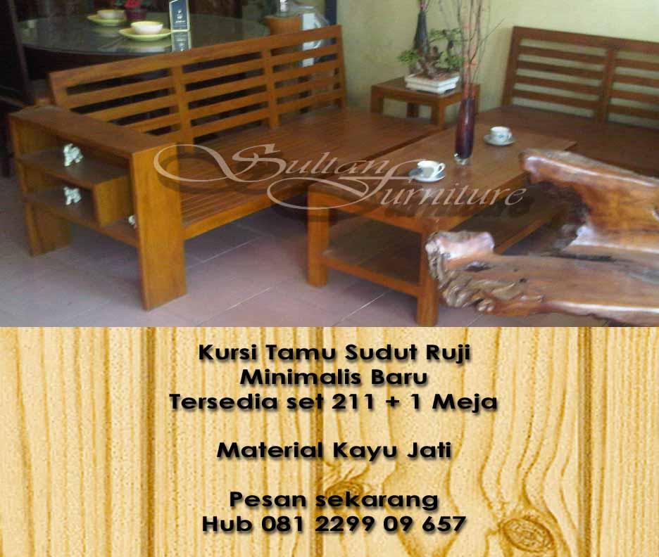 Jual Furniture Minimalis Mebel Jati Jepara Minimalis