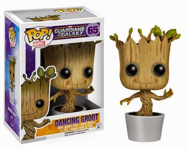 Boneco Dancing Groot