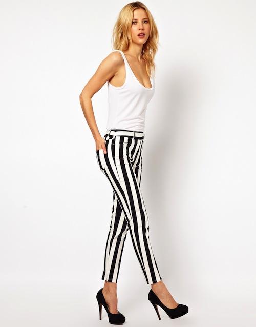 Spiksplinternieuw Jay-Dee Style: Trend:Zwart/witte gestreepte en geruite broeken OM-71