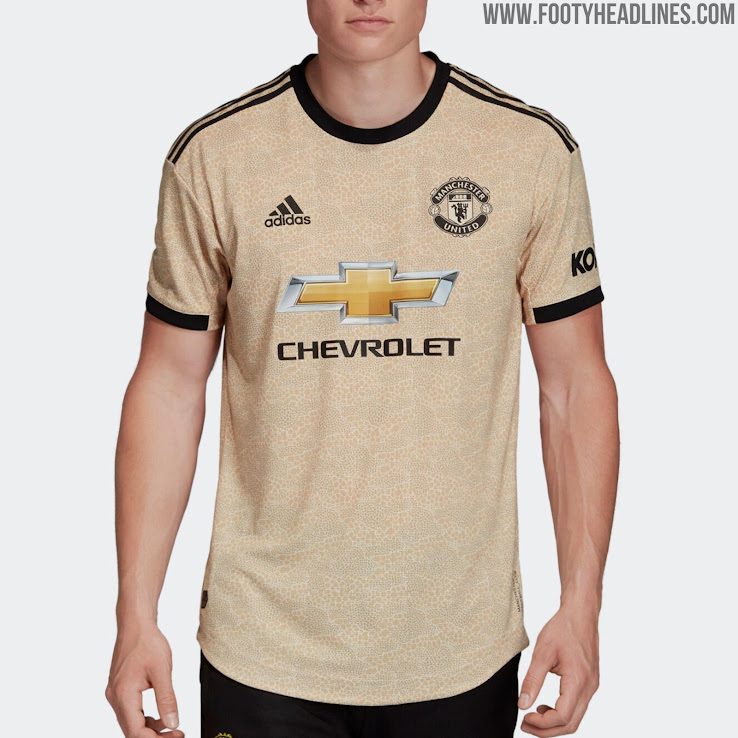 super popular 86ead 3c793 Manchester United 19-20 Away Kit Released - Footy Headlines