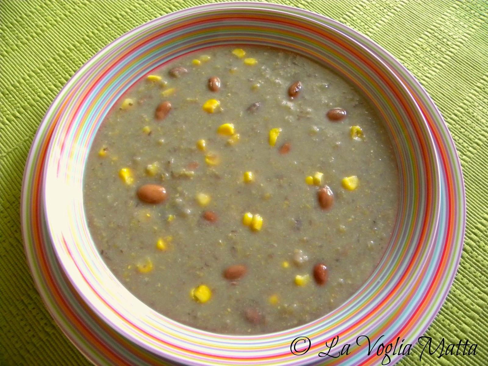 ricetta minestra mais bobìci