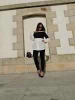 black and whiter